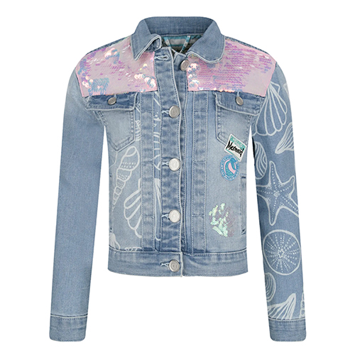 Girl's Cere Denim Jacket