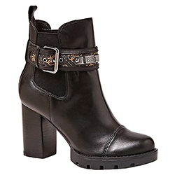 Rafiela Broad-Heel Buckle
