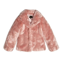 Guess Girl's Eco Fur Jack