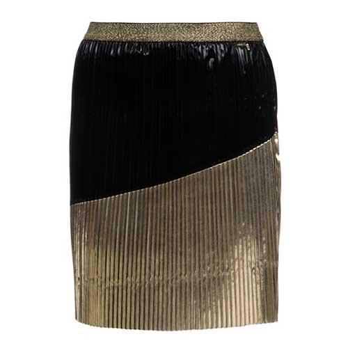 Girl's Pleated Midi Skirt