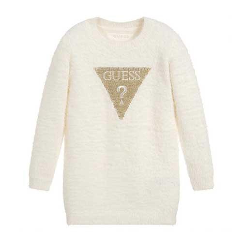 Girl's Faux Fur Sweater D