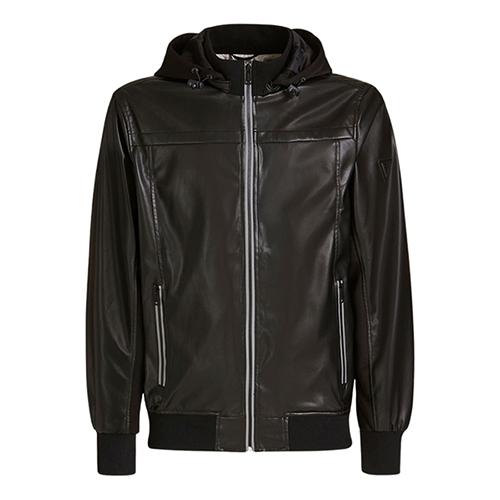 Men's Faux Leather Jacket