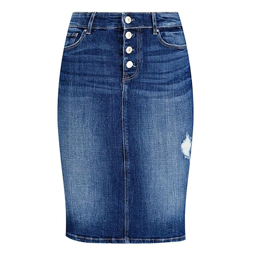 Guess Women's Denim Calf-