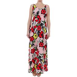 Women's Long Dress with F
