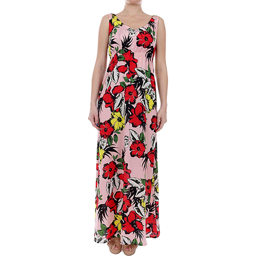 Women's Long Dress with F