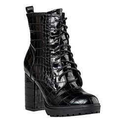 Miss NV Croc Booties