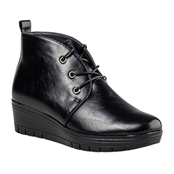 Miss NV Wedge Ankle Boots