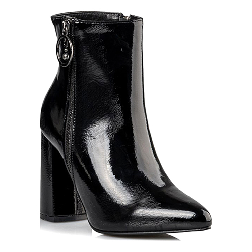 Miss NV Zip Up Shiny Boot