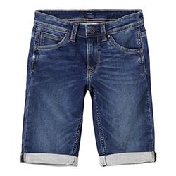 Boy's Cashed Denim Shorts