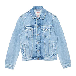 Women's Rose Denim Jacket