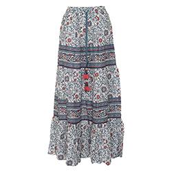 Women's Ras Maxi Skirt
