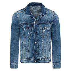 Men's Pinner Denim Jacket