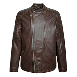 Men's Locke Leather Jacke