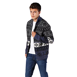 Men's Angel Knitted Jacke