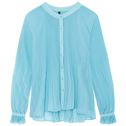 Marisol Longsleeve Pleate
