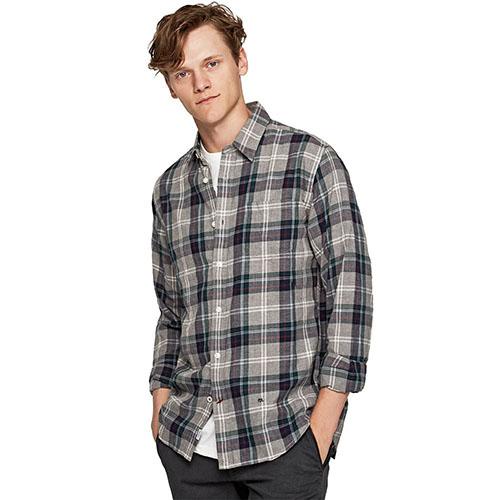 Clark Checked Shirt M