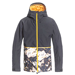 Men's Snow Side Hit Jacke