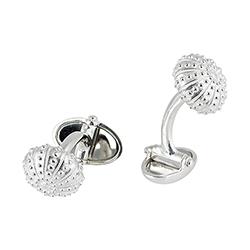 Silver Urchin Cufflinks