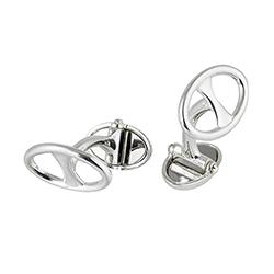 Silver Ts Cufflinks