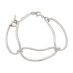 Silver Bracelet - Irregul