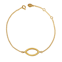 Yellow Gold Slim Bracelet