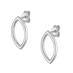 Silver Single Earrings -