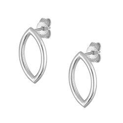 Silver Single Earrings -