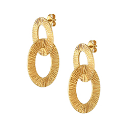 Yellow Gold Large Double