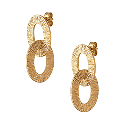Yellow Gold Small Double