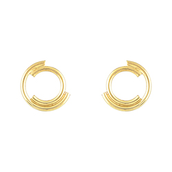 Yellow Gold Earrings - Ja