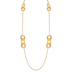Yellow Gold Long Necklace
