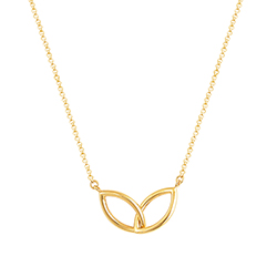 Double Yellow Gold Neckla