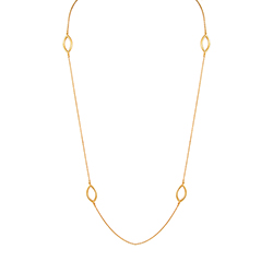 Yellow Gold Slim Necklace