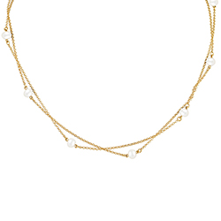 Yellow Gold Necklace with