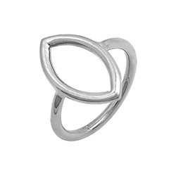 Silver Slim Ring - Cat's