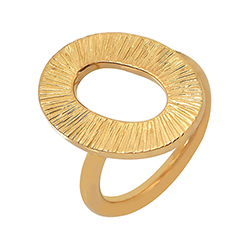 Yellow Gold Ring - Liaiso