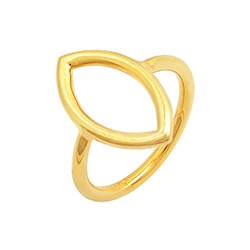 Yellow Gold Slim Ring - C