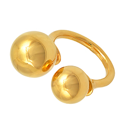 Yellow Gold Double Ball R