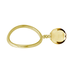 Yellow Gold Medium Ball R