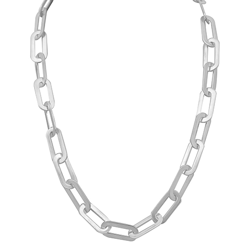 Chain Athens Link Silver