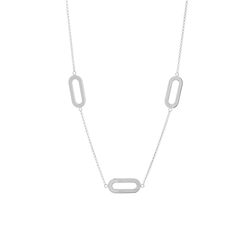Triple Athens Link Silver