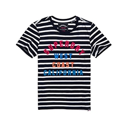 West Coast Stripe Entry T