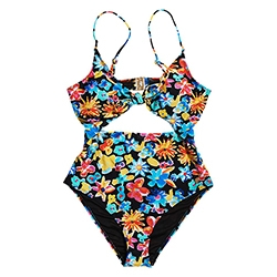 Saisie Cut Out Swimsuit