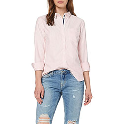 Women's Oxford Striped Sh