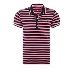 Pacific Stripe Polo Shirt