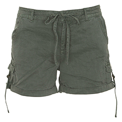 Tencel Cargo Shorts