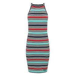 Women's Strappy Stripe Mi
