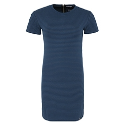 Evie Textured Tee Dress
