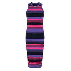 Women's Knitted Stripe Mi
