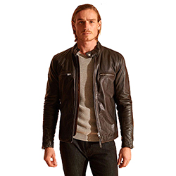 Men's Sports Racer Jacket